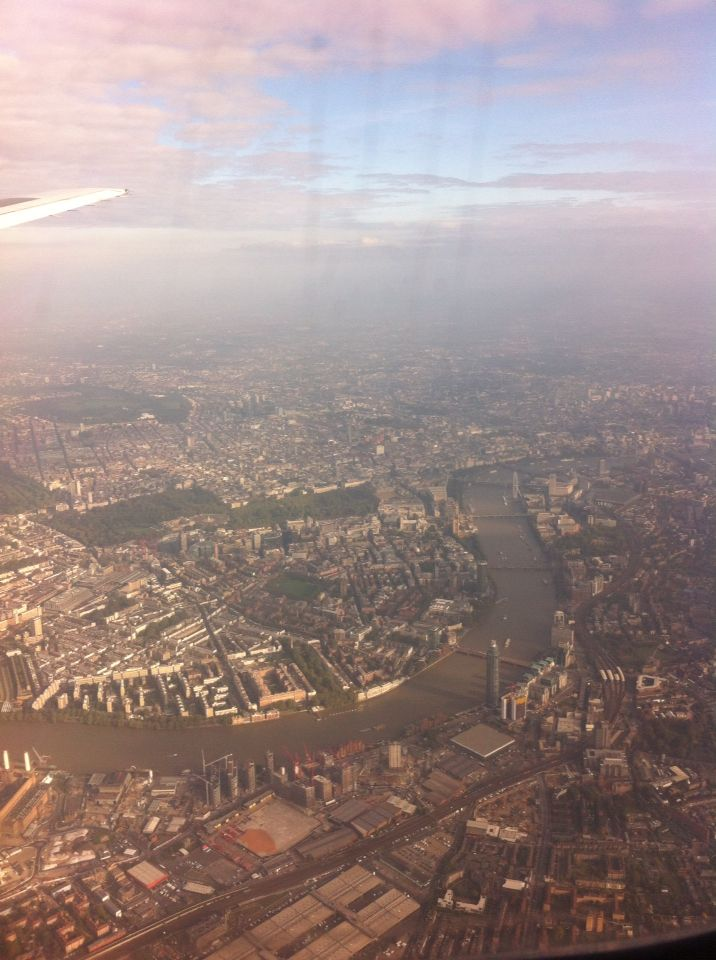 London view from the sky!!!