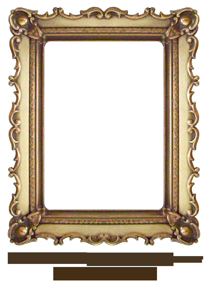 Carved Gold Frame by EKDuncan by EveyD.deviantart.com on ...