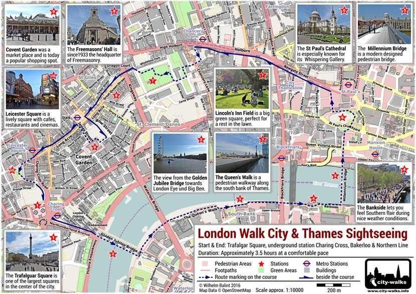 London City Map Pdf.London Walk City Thames Pdf Sightseeinglondon Trip Planner
