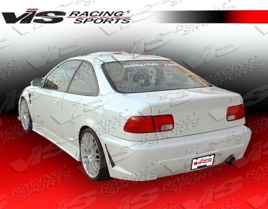 Honda civic hatchback aerodynamics body kits ground effects