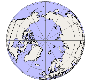 Image result for northern hemisphere map from north pole  VBS