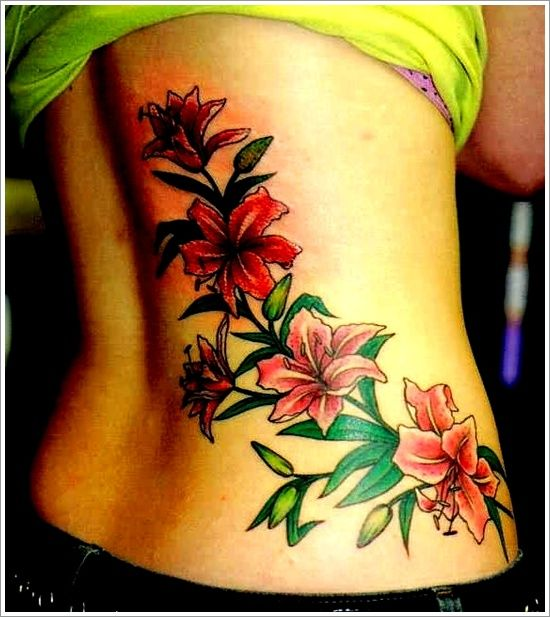 30 Sensuous Flower Hip Tattoos And Designs: 30 Sexy And Beautiful Orchid Tattoo Designs