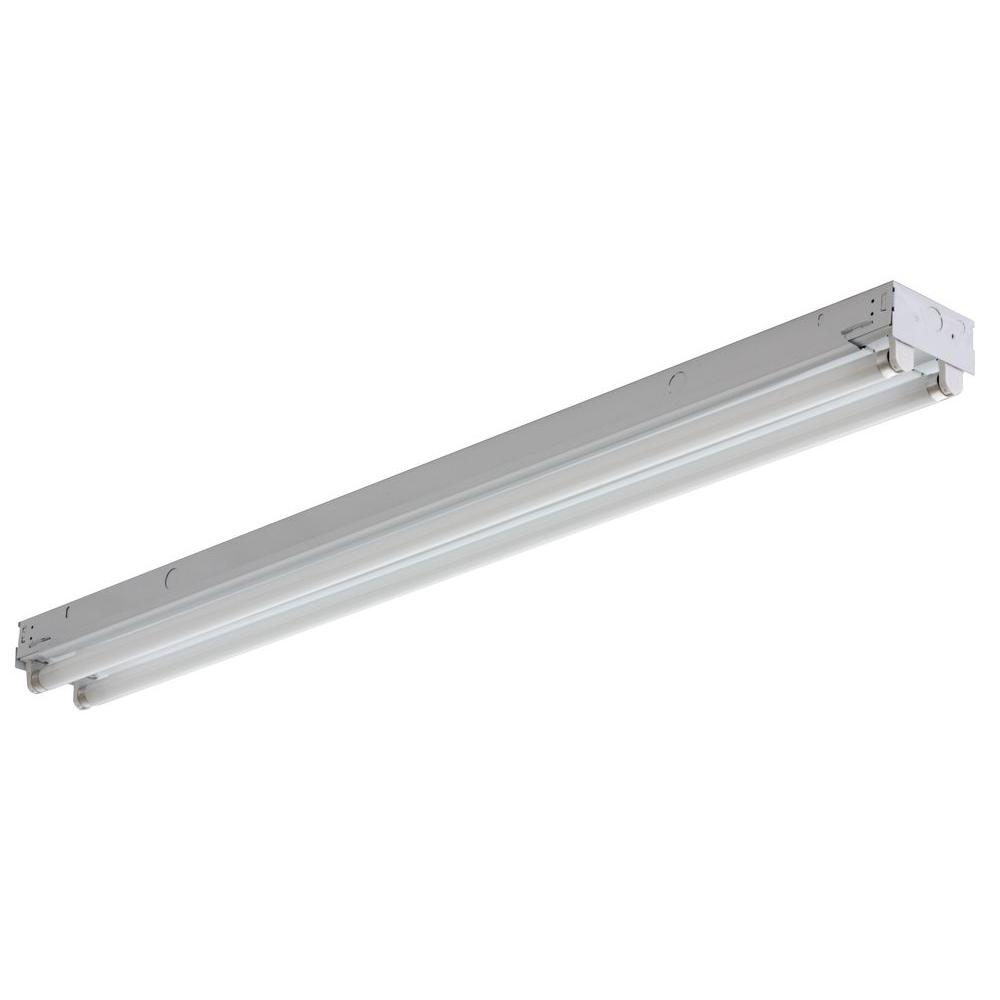 Lithonia Lighting 2 Light White Electronic Channel Fluorescent Strip Light C 2 32 120 Gesb Fluorescent Light Fixture Led Fluorescent Light Strip Lighting