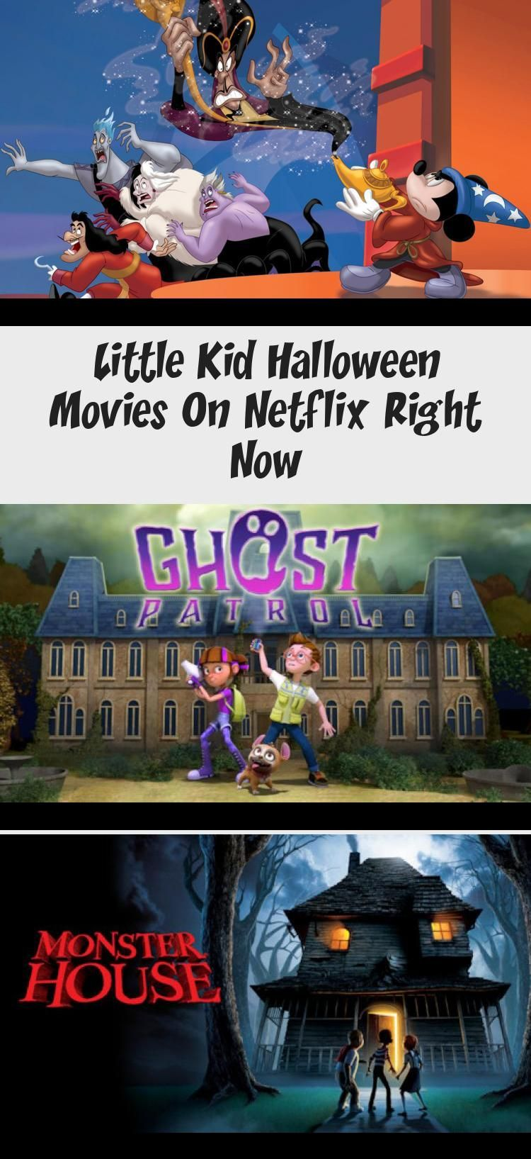 Little Kid Halloween Movies On Netflix Right Now in 2020