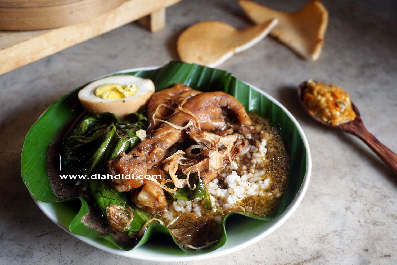 blog diah didi berisi resep masakan praktis  mudah dipraktekkan  rumah makanan resep Resepi Laksa Vegetarian Enak dan Mudah
