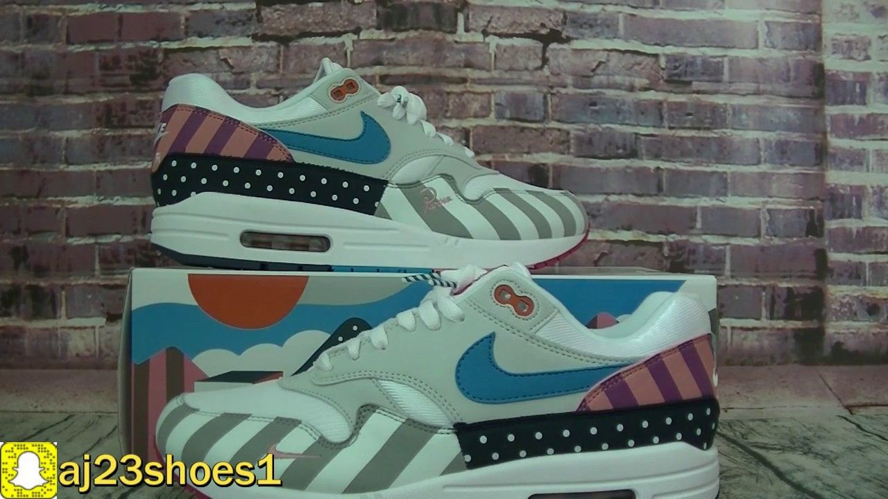 e2b2f5858eef Authentic Nike Air Max 1 Parra Frist Review From aj23shoes net ...