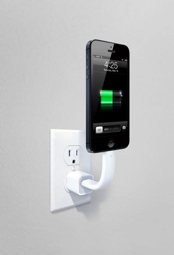 iLoveHandles | TRUNK - Posable charging cable for your smartphone