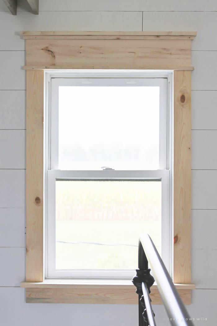 Farmhouse Window Trim Love Grows Wild in 2020 Interior