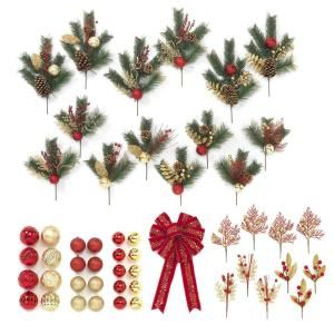 Yow Gold Trim A Tree Gift Box Set Of 50 Pieces Christmas