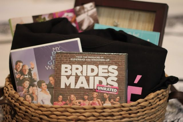 Perfect Wedding Gift For Best Friend: DIY Engagement Basket