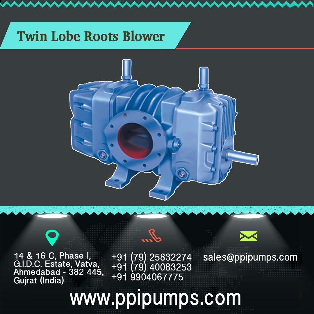Twin Lobe Roots Blower PR Series Capacity 100 to