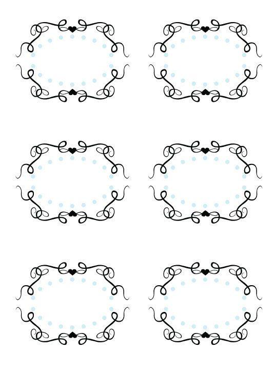 Printable Cinderella Fancy Labels By Whimsyllc On Etsy
