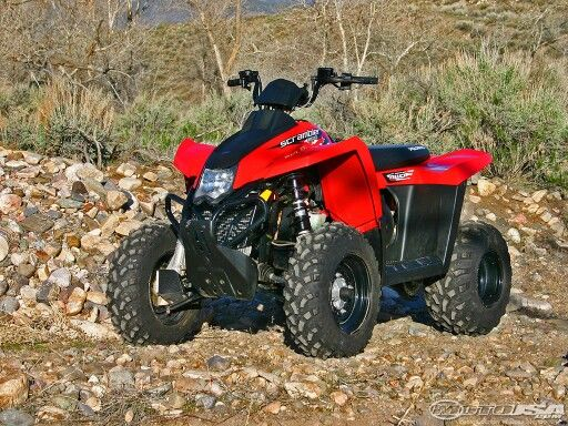1997 2017 Polaris Scrambler 500 Atv