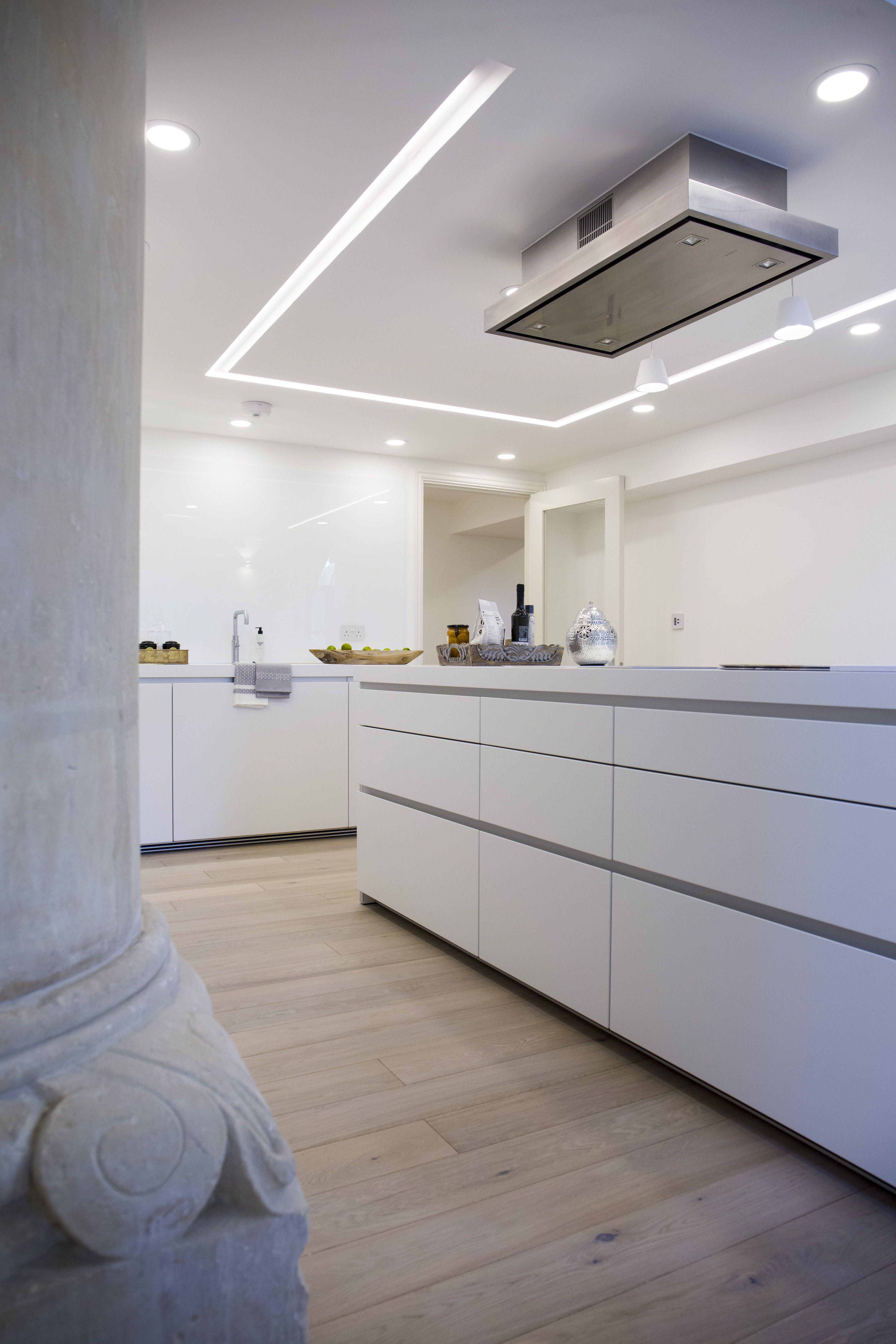 Bulthaup B1 Kitchen In Alpine White Matt Lacquer Miele And
