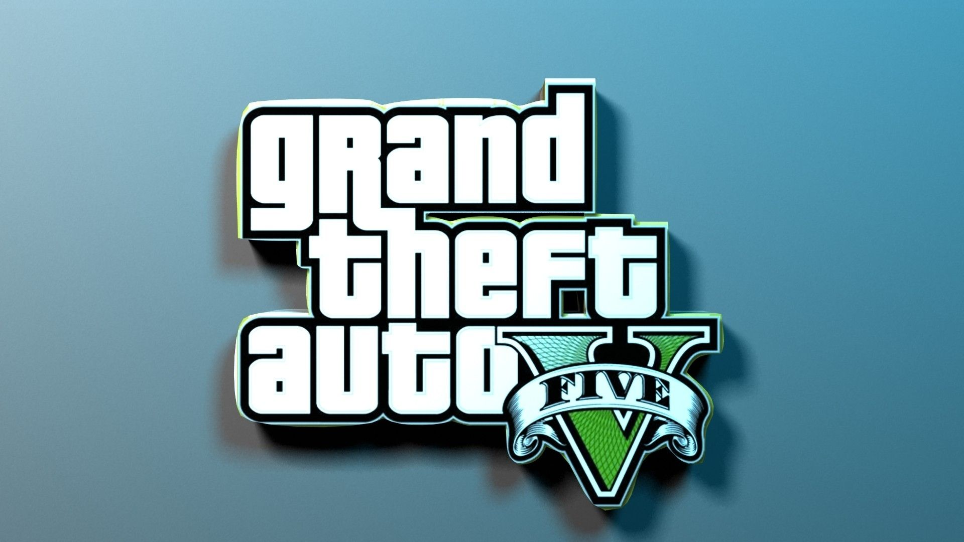 #Gta5 Logo Wallpaper