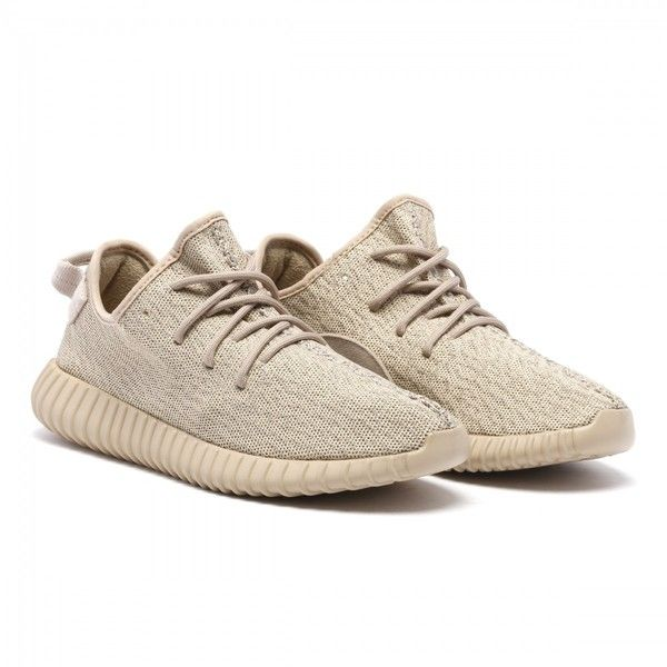new style bbf5d e7146 Yeezy Boost 350 Tan sneakers ( 440) ❤ liked on Polyvore featuring shoes,  sneakers, tan shoes and tan sneakers