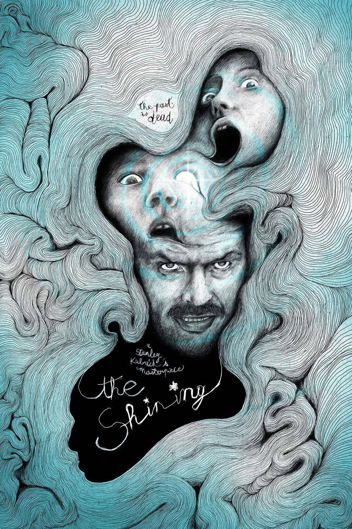 Shining movie fan art find | Film posters art, Movie ...