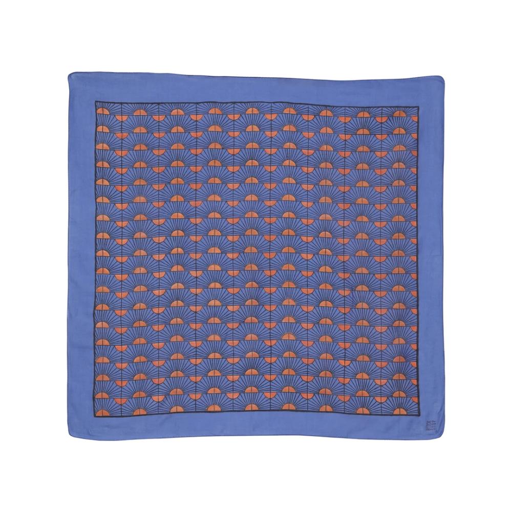 Rosehip square scarf cobalt in 2020 Square scarf