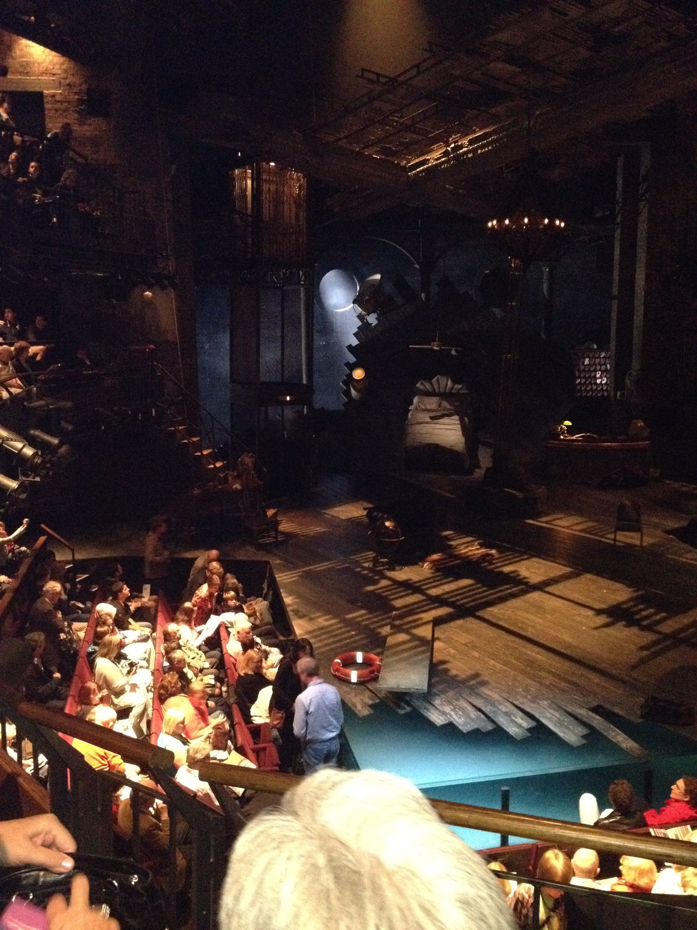 RSC Theatre, Stratford Twelfth Night, 2012 with real
