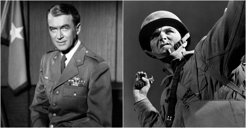Four Hollywood Legends That Were in WWII #hollywoodlegends Four Hollywood Legends That Were in WWII #hollywoodlegends