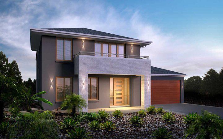 Metricon home designs the nolan kingston facade visit for Home designs victoria