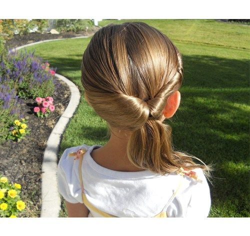pin little girl hairstyles