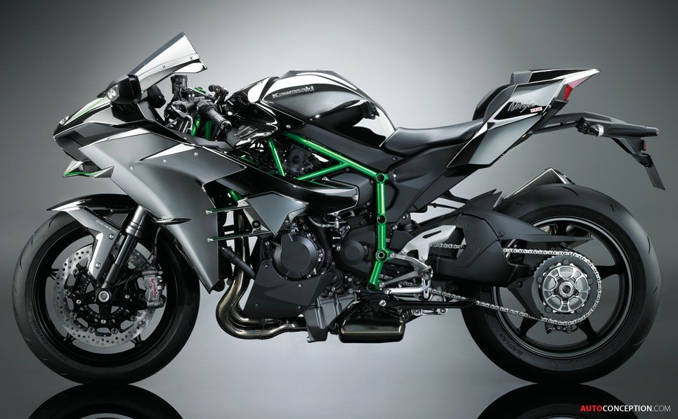 Kawasaki Ninja H2 Streetbike Dream Bikes Súper Motos Motos