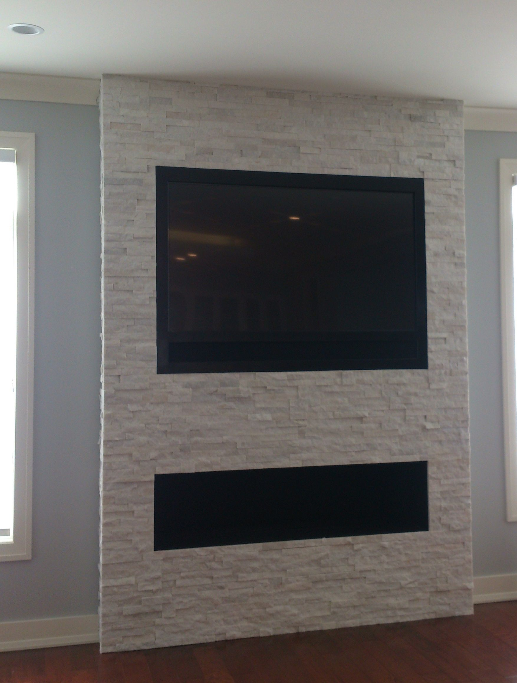 Wondering how to mount a TV over a fireplace without a ...