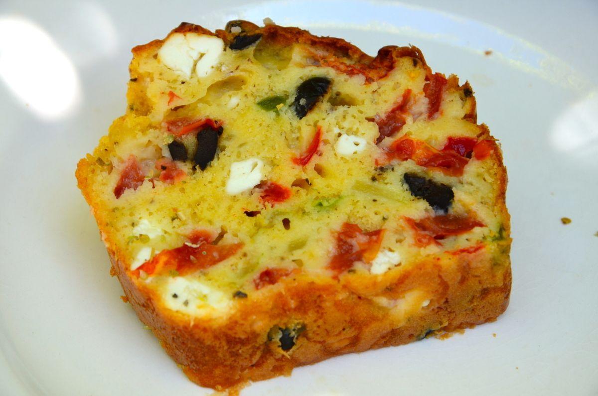 Mini Cake Poivron Chorizo Thermomix