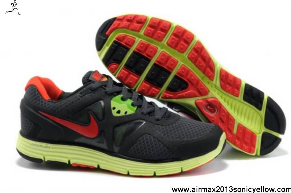 Buy 454164-016 Nike Lunarglide 3 Mens Black Yellow Red Your Best Choice