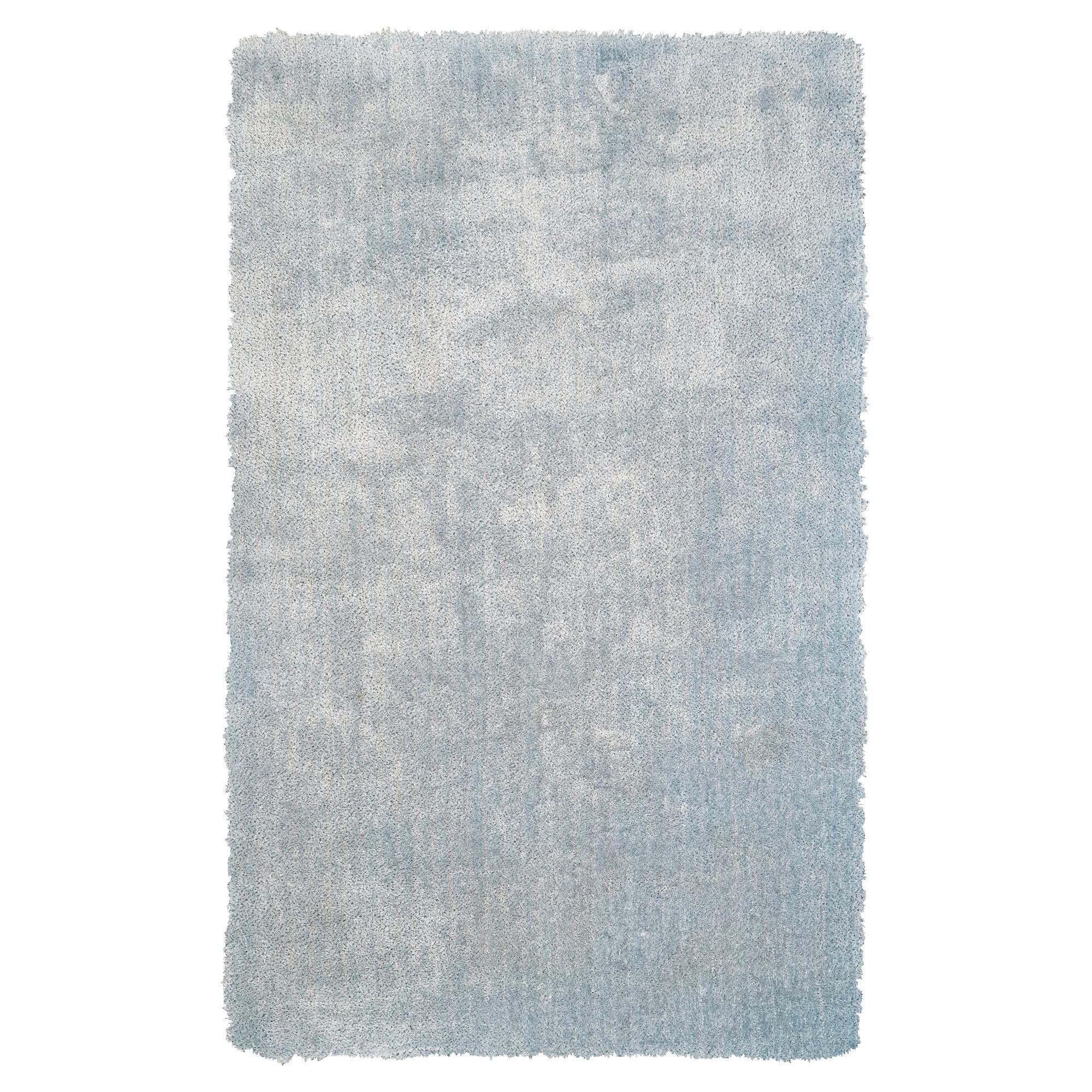 Sky Blue Solid Tufted Runner 2 6x8 Runner Room Envy