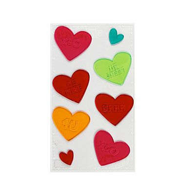 Valentine S Day Window Gel Clings 8 Pack Valentines Big Lots Gel