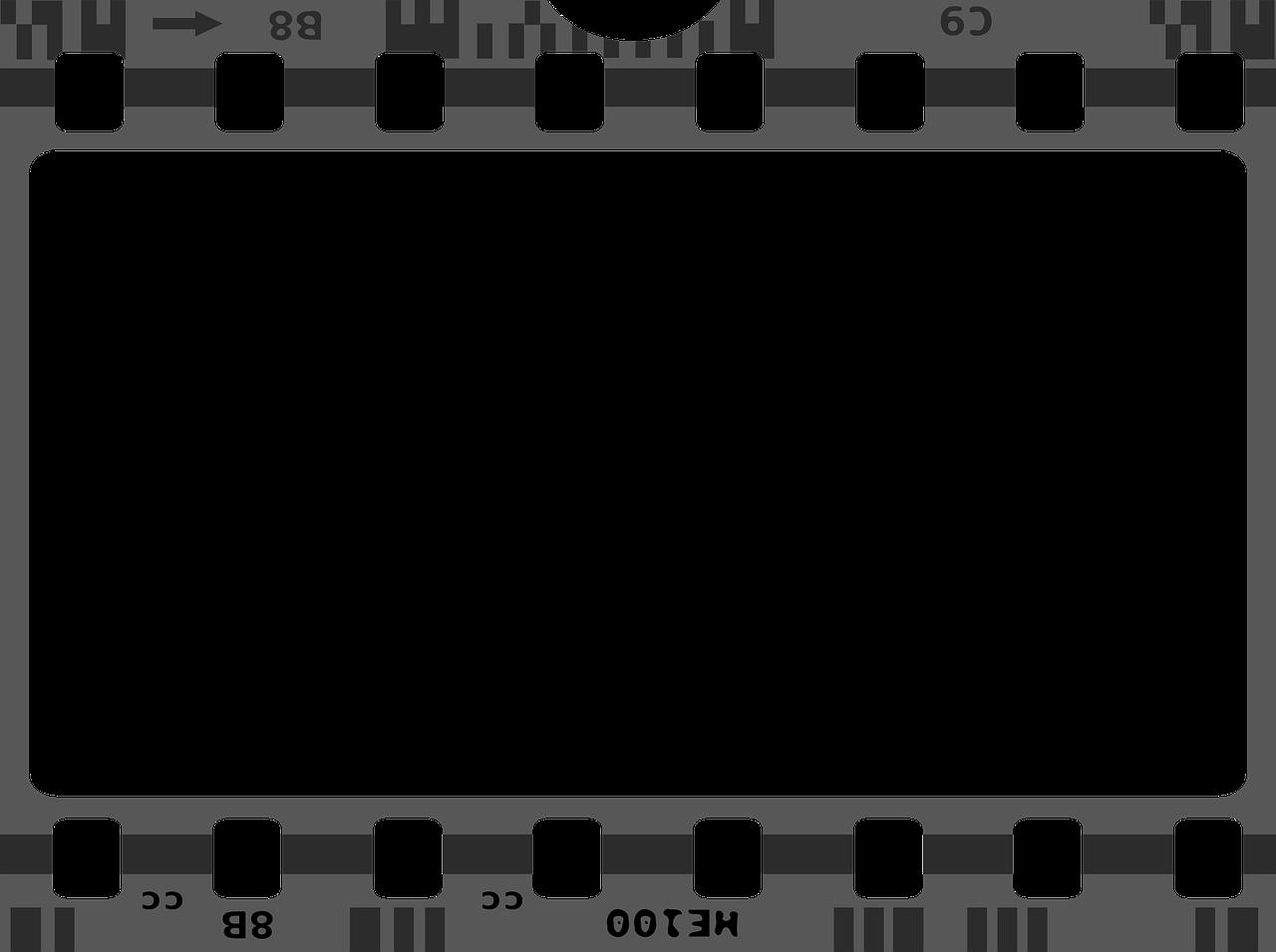Free Pixabay - Movie Cinema Negative Frame In