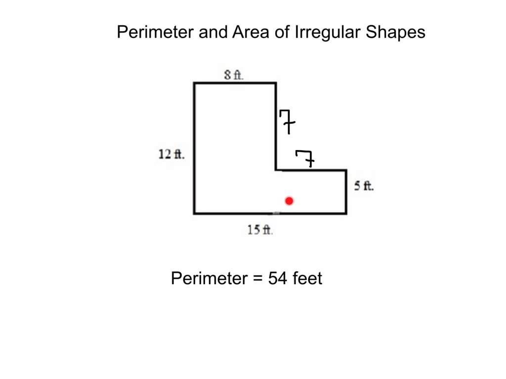 Perimeter And Area Of Irregular Shapes