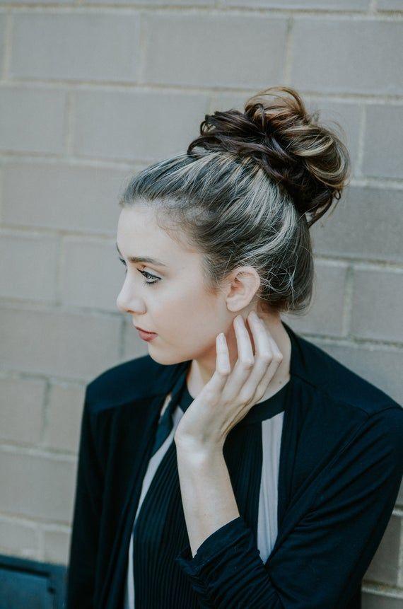 Madison Braids Bun Ponytail Holder Scrunchie Bun Hair Extension Wig Braid Hair Accessory Braided Headband - Top Knot