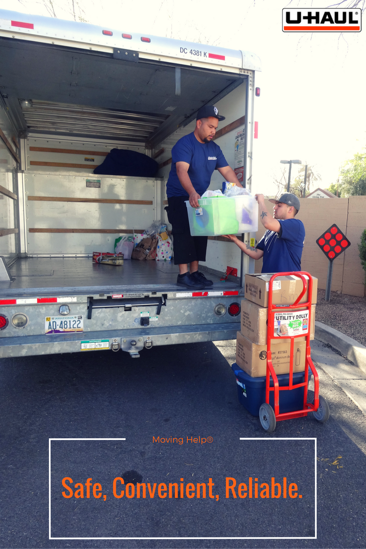 Movers to unload uhaul
