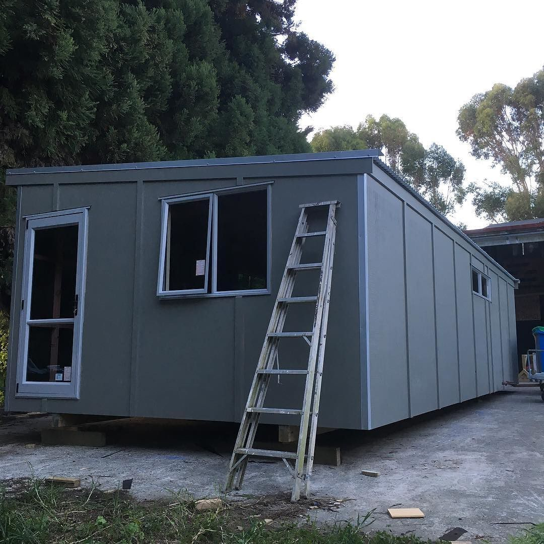 #bigtinyhouse#nomortgage #portableliving#tinyhouse biggest portable cabin we've ever built for site office at a quarry by gregsavill