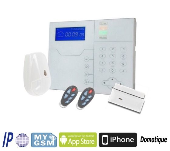 St Vgt Is A Wireless Security Protection System That Includes A Control Panel Integrated Touch Scr Home Security Home Security Systems Wireless Home Security