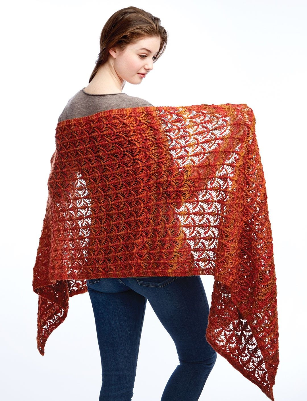 Lace Shawl and Wrap Knitting Patterns | Wrap pattern, Wraps and Lace ...