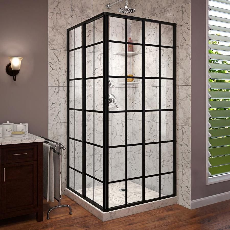 Dreamline French Corner 40 4375 In To 40 4375 In W Framed Bypass