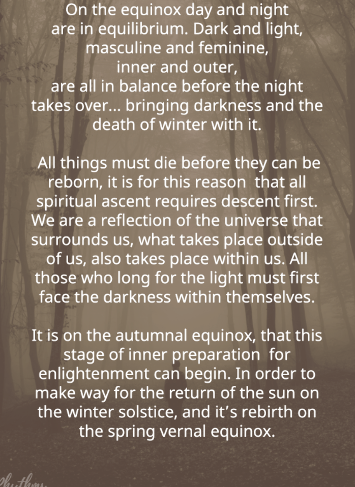 Fall Autumnal Equinox Celebration Ideas! Answer your questions about the meaning of Mabon (fall equinox) and learn ritual ways to celebrate the astronomical beginning of the autumn season. Includes links to easy fall crafts and beautiful autumn decorations! | #Equinox #FallEquinox #AutumnalEquinox #FallFun #Mabon #FallSeason #Autumn #autumnalequinox
