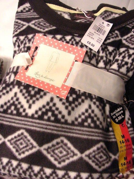 Primark Love to Lounge Pyjama Fleece  640f28b6b42b