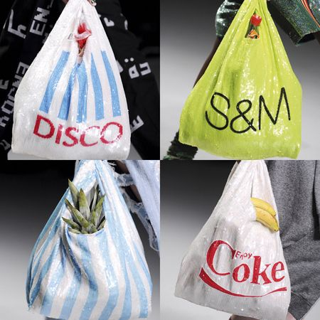Want These Ashish Sequin Carrier Bags