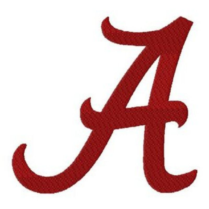 Font Alabama A for silhouette | Photo of The University of Alabama ...