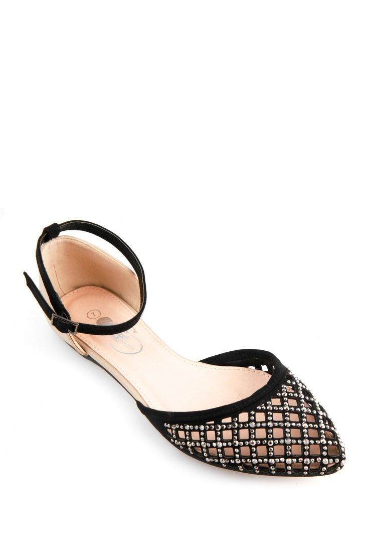 Glamour d'Orsay Flat by GC Shoes on