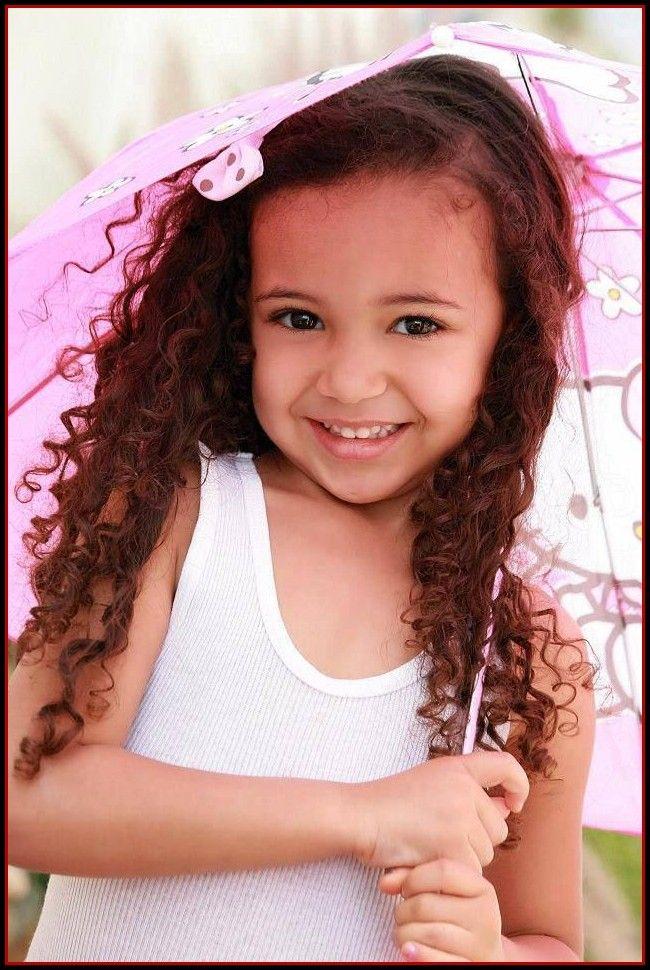 Biracial Little Girl Mixed Kids Hair For Children Read