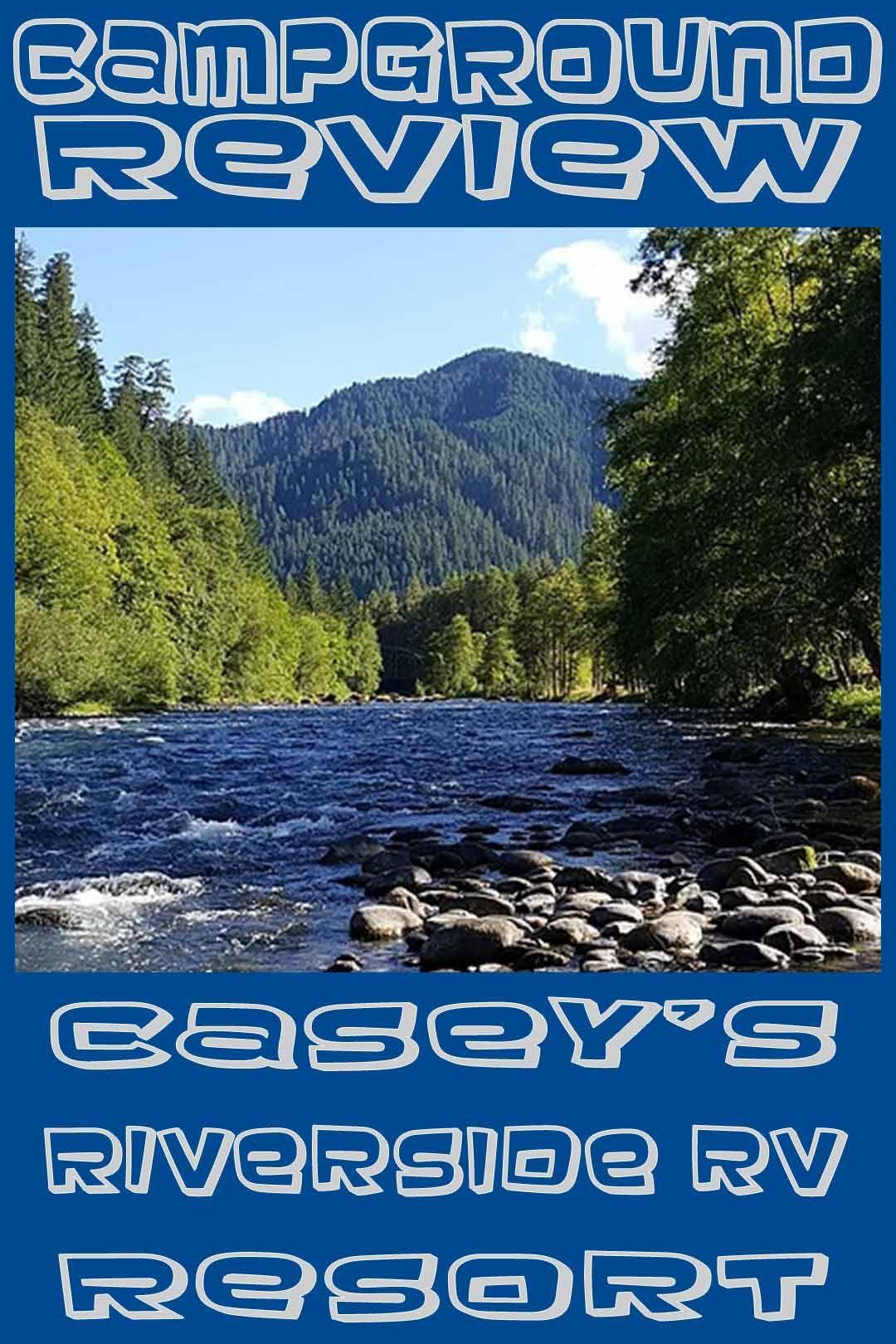 Campground Review Casey S Riverside Rv Resort Westfir Oregon Heartlandrvs Campground Oregon Rv Rving Rvlife Rv Parks Campground Reviews Oregon Travel