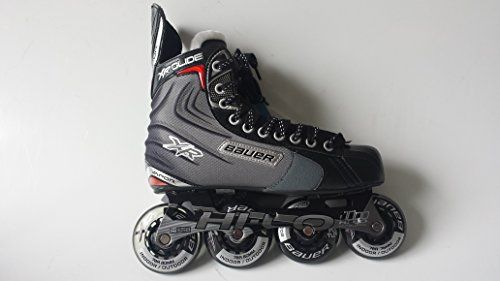 Roller Hockey Skates Bauer Rh Xr Glide Skate Senior Roller Hockey Skates Size 11 More Info Could Be Found At T Roller Hockey Skates Skates For Sale Skate