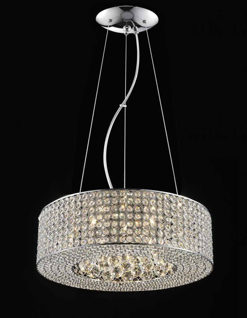 763 Lighting Originals Jewel Collection 20 Quot Drum Pendant