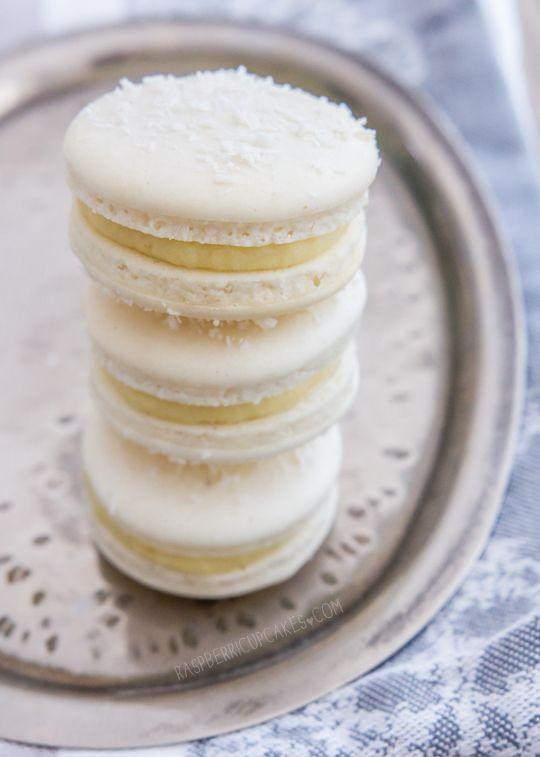 Raspberri Cupcakes Macaron Flavors Macaron Recipe Coconut Macaron